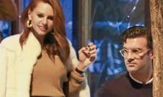 Τζορτζ Παπακώστας & Έβελυν Καζαντζόγλου – Οι πρώτες κοινές φωτογραφίες του ζευγαριού : Celebrity News